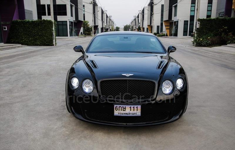 BENTLEY CONTINENTAL Supersports รถปี2010